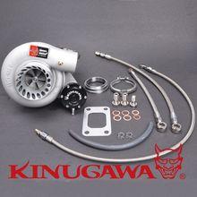 Kinugawa GTX Billet Turbocharger 3 Anti Surge TD05H-16G 6cm T3 V-Band for Nissan Safari / Patrol GQ TD42 Low Mount turbo manifold turbocharger kit for nissan safari patrol 4 2l td42 gq gu y60 t3 t4 t3t4 to4e 63 a r oil line turbocompresor