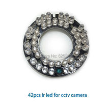 Economical 42pcs Combination degree IR leds for cctv camera with long distance