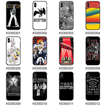 Phone Cover For iPhone XR Case 7 6 6S Plus 5 5S SE Phone Case LED ZEPPELIN for XS Max Soft TPU Cases For iPhone 8 Plus цена и фото