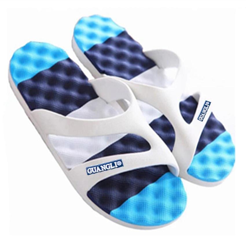 2019 New Men's Slippers Summer Korean Casual Non-slip Wear Wear Blowing Bottom Slippers
