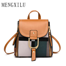 цена на New Designer Fashion Women Leather Backpack Quality Mini Multi-Function Small Backpack Female Ladies Shoulder Bag Bolsa Feminina