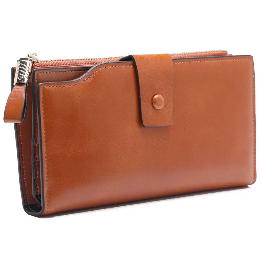a8efd96581c6 Wallet Women Genuine Leather Woman Wallet Female cartera Mujer Wallets  Women Purses Billetera Mujer Womens Wallets And Purses