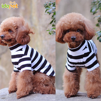 Dog Clothes Striped Dog Shirts for Small Medium Dogs Autumn Pet Clothing for Yorkies Chihuahua Clothes Dog Clothing 8d35Q
