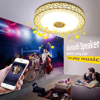 Coquimbo 3 Modes Ceiling Light With Bluetooth Speaker Home Party Light With Remote Control 110 220V