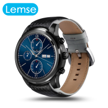 LEM5 Android Smart watch Bluetooth 1.39″ IPS OLED Round Display 400*400 1GB+8GB GPS / WiFi Wristwatch For Android IOS Phone