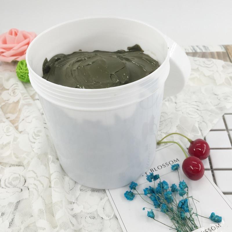 Green bean mud mask tender skin balance water oil deep clean skin to black head