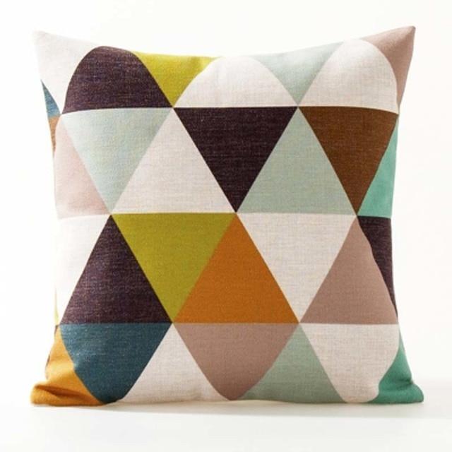 Nordic Geometric Decorative Pillowcase Size: 45CM WT0042 Color: 6