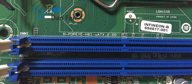 694617-001 For HP Pro 3330 3830 MT Desktop Motherboard 702644-001  H-POPEYE-H61-uATX:2 00 Mainboard 100%tested fully work