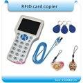 Super 13.56 MHZ RFID Card Reader & Writer/RFID Copiadora/Programador cópia criptografada para Sector0 + 20 pcs regravável KeyFob