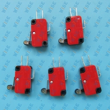 5 PCS MICRO SAFETY LIMIT SWITCH NO / NC AC / DC V-155-1C25 ROLLER SNAP ACTION