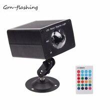 DJ 色水の波紋ステージボールエフェクトライトリモコン 16 RGB