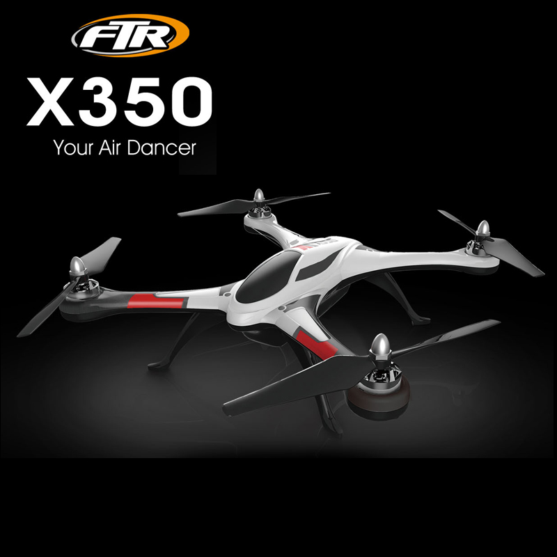 XK X350 with brushless motor 6-Axis Gyro 3D 6G Mode 4CH RC Drone Quadcopter XK STUNT X350 RTF 2.4GHz
