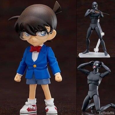 14cm Detective Conan FigFIX SP-001 Figma SP-058 PVC Action Figure Collectible Anime Cartoon Model Toy ES5 anime cartoon detective conan figfix sp 001 figma sp 058 pvc action figure collectible model toy 14cm