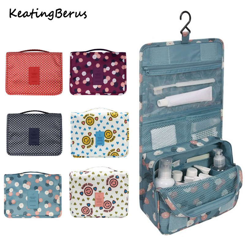 High Quality Women Men Hanging Cosmetic Bags Waterproof Large Travel Beauty Cosmetic Bag Personal Hygiene Bag Organizer