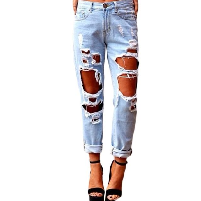 jeans mit l chern damen g220 damen jeans hose h fthose. Black Bedroom Furniture Sets. Home Design Ideas