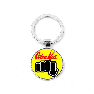 THE KARATE KID 1984 KEYRING LLAVERO