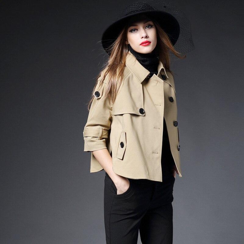 Taille Femelle Long Piste Poussière 2019 coat Printemps vent Dames Femmes Grande Manteaux Breasted Lâche Cascade Trench Coupe Double Noir kaki rouge Rouge Yfb6gy7