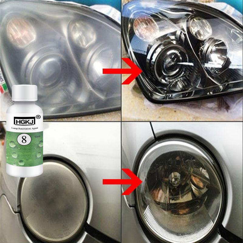 DIY Car Headlamp Polishing Anti-scratch Car Head Lamp Lense Increase Visibility Headlight Restorstion Kits Restores Clarity