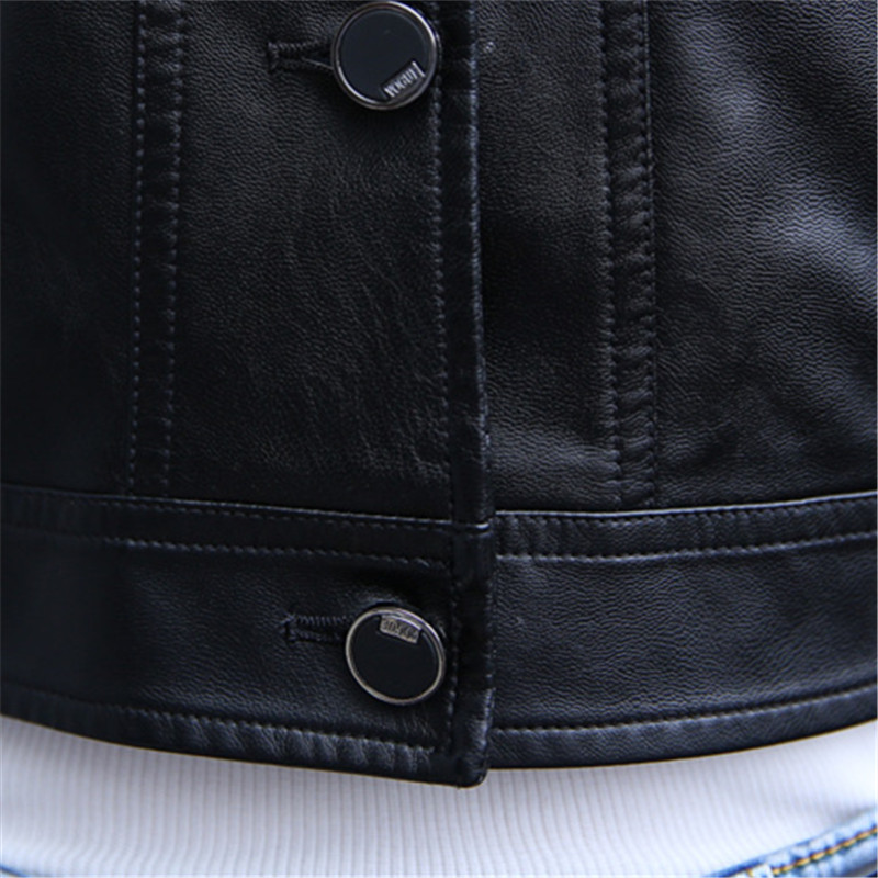 Ladies Jacket Streetwear Leather Women High Motorcycle Quality Parka Bomber Elegant 2018 Spring Pu ZpAaRa
