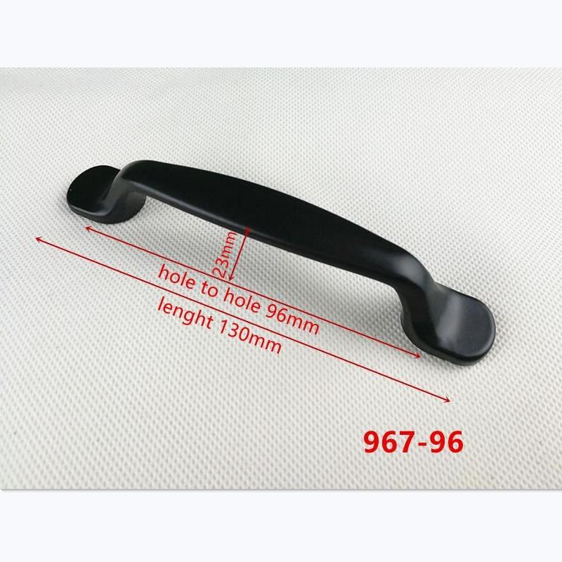 Различные стильные дверные ручки из нержавеющей стали, ручки для шкафа, ручки для шкафа, мебельная фурнитура - Цвет: B-967-96
