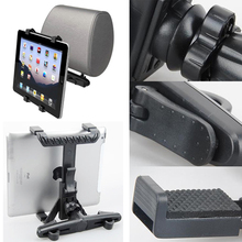 Universal Fit Generic Car Seat Back Pillow Headrest Mount Holder for 6 inch to 10 inch mobile phone Tablet For iPad