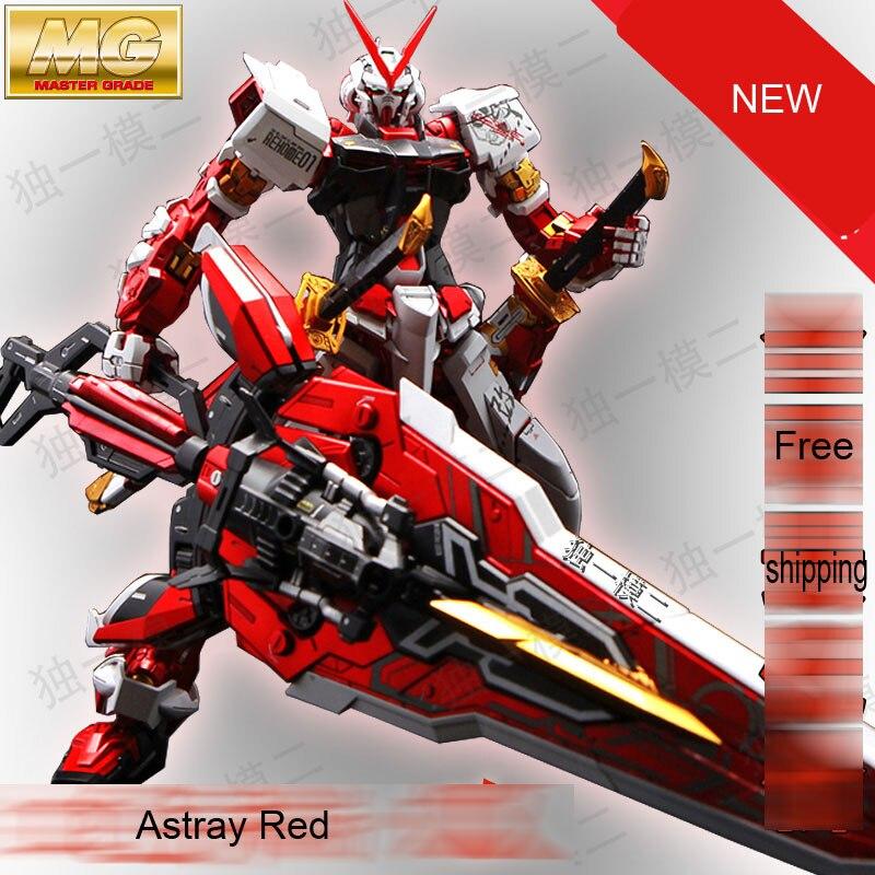 Modelo Daban MG MBF P02 Gundam Astray Red Quadro KAI 1/100 Anime Japonês  Montado Kits Robots Figuras De Ação PVC Crianças Brinquedos Em Figuras De  Ação ...