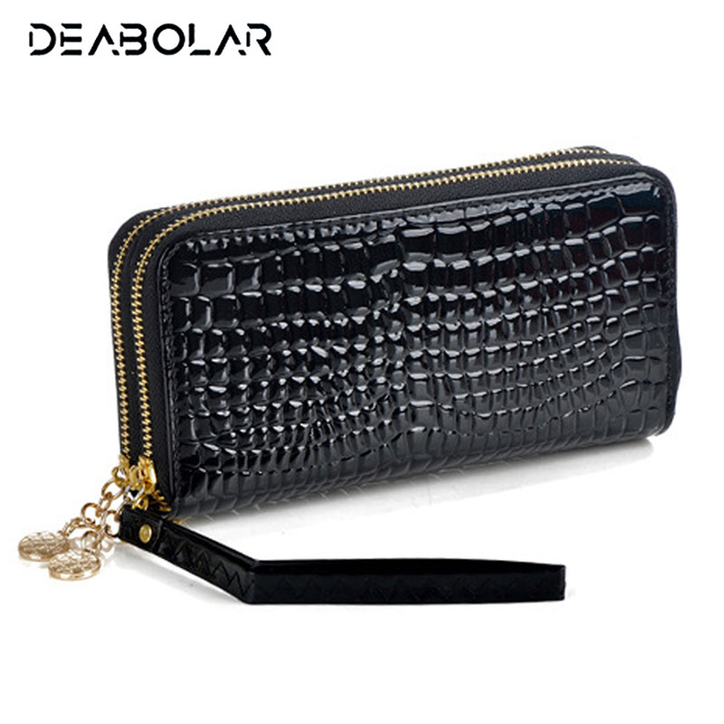 2017 New Fashion Women Wallet Brand Long Double Zipper Design Woman PU Leather Wallets High Quality Female Purse Clutch Bag double zipper men clutch bags high quality pu leather wallet man new brand wallets male long wallets purses carteira masculina