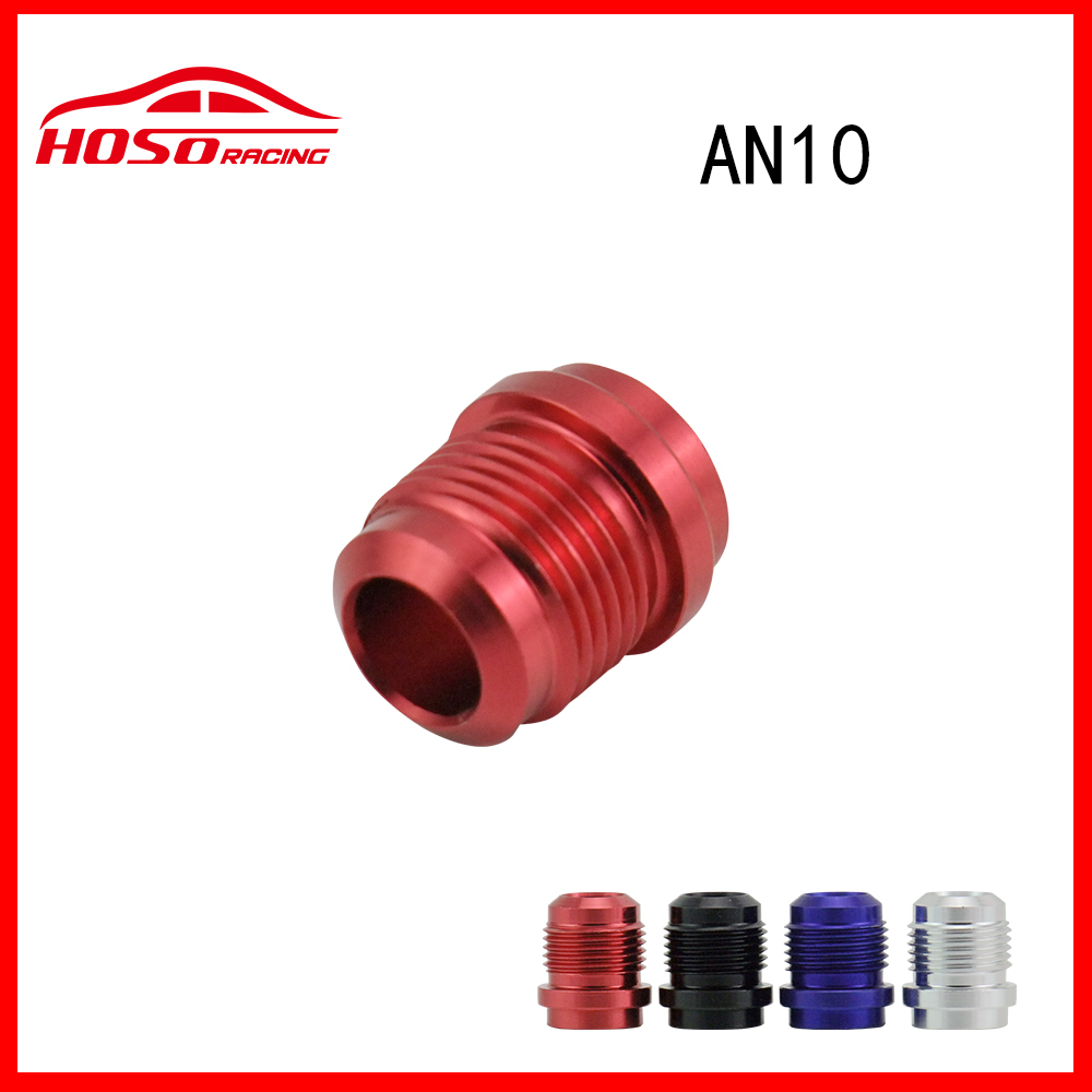 HOSO Racing Male Aluminium Weld On Fitting Round Base(AN10 -10 JIC AN 10)