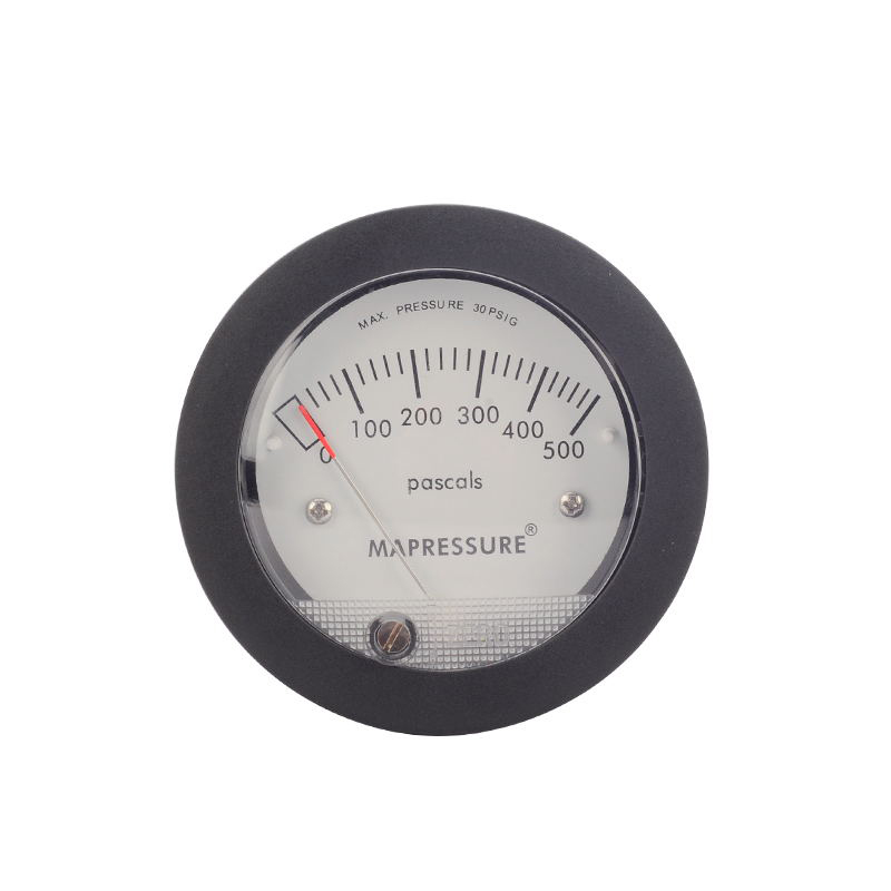 TE5000 Air Differential Pressure Gauge Mini Size Easy to Mounting Pointer Rated Pressure 0-500PATE5000 Air Differential Pressure Gauge Mini Size Easy to Mounting Pointer Rated Pressure 0-500PA