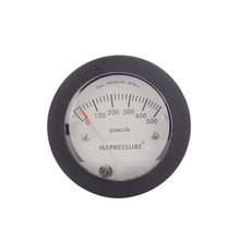 TE5000 Air Differential Pressure Gauge Mini Size Easy to Mounting Pointer Rated Pressure 0-500PA
