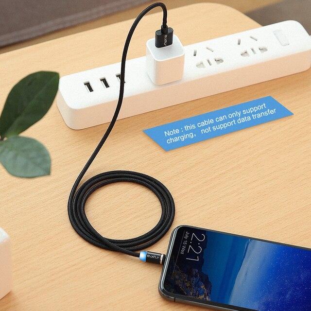 RAXFLY 2in1 Magnétique Câble Micro USB Câble Pour Samsung S3 S4 S6 Éclairage Câble Pour iPhone 7 6 5 USB type-C Câble pour Xiaomi 5 5S 5
