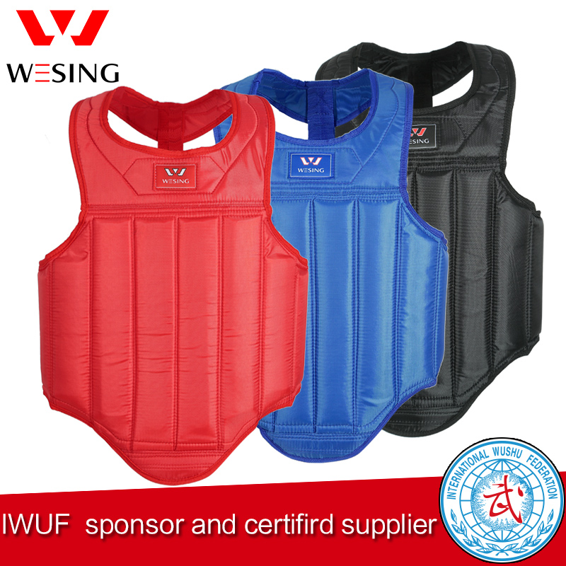 wesingg MMA Chest Guard wushu sanda chest protector chest guard martial arts