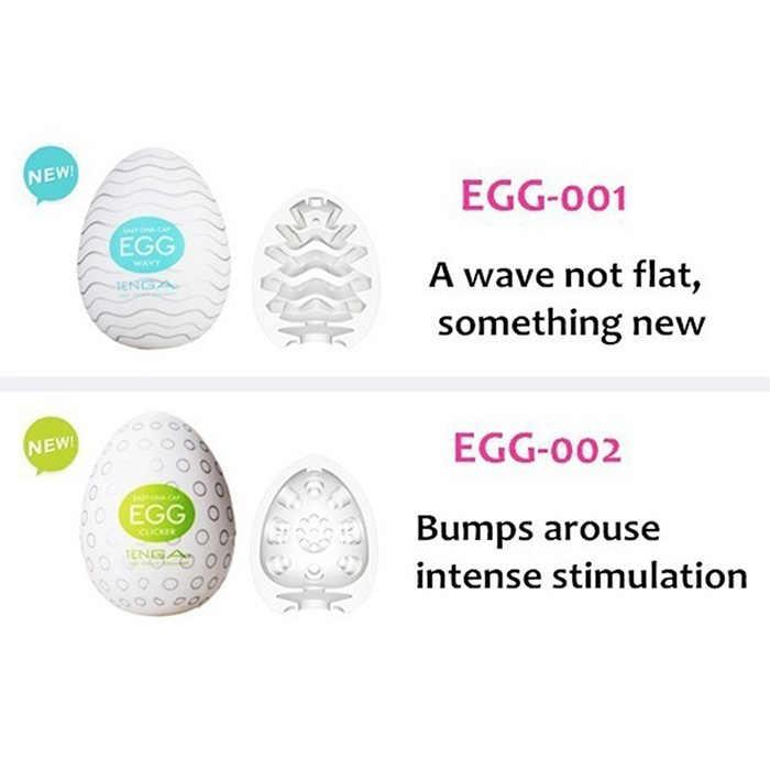 Ovo masturbador para homens, ovo de masturbação realista em silicone com lubrificante