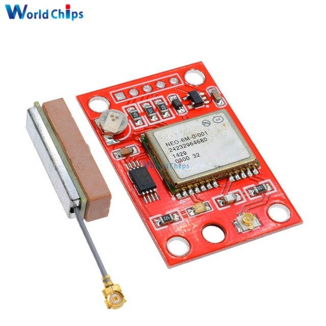 1 компл. GPS модуль GY-NEO6MV2 neo-6m с Flight Управление EEPROM RS232 TTL большой Телевизионные антенны для Arduino GPS apm2 APM2.5 neo6mv2 3-5 В