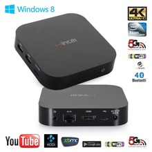 2016 new high quality network set-top box Intel MINI PC HTPC with HDMI RJ45 USB2.0 WIN10 AND android