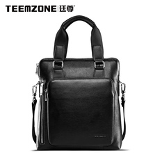 European And American Genuine Leather Male bags Design Large Capacity Tidal Current Famous Brand Men Shoulder Crossbody Bag