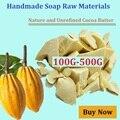 Pura manteca de cacao 100g-500g oz 2017new base de aceite crudo sin refinar manteca de cacao orgánico natural aceite esencial