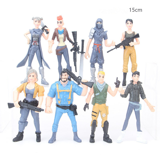 05ffe2ce 8 Units Lot 2018 Newest Games Anime Fortnite Character Model Toy