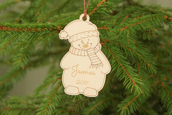 first christmas ornament personalized christmas ornament snowmen ornament unique christmas ornaments babys