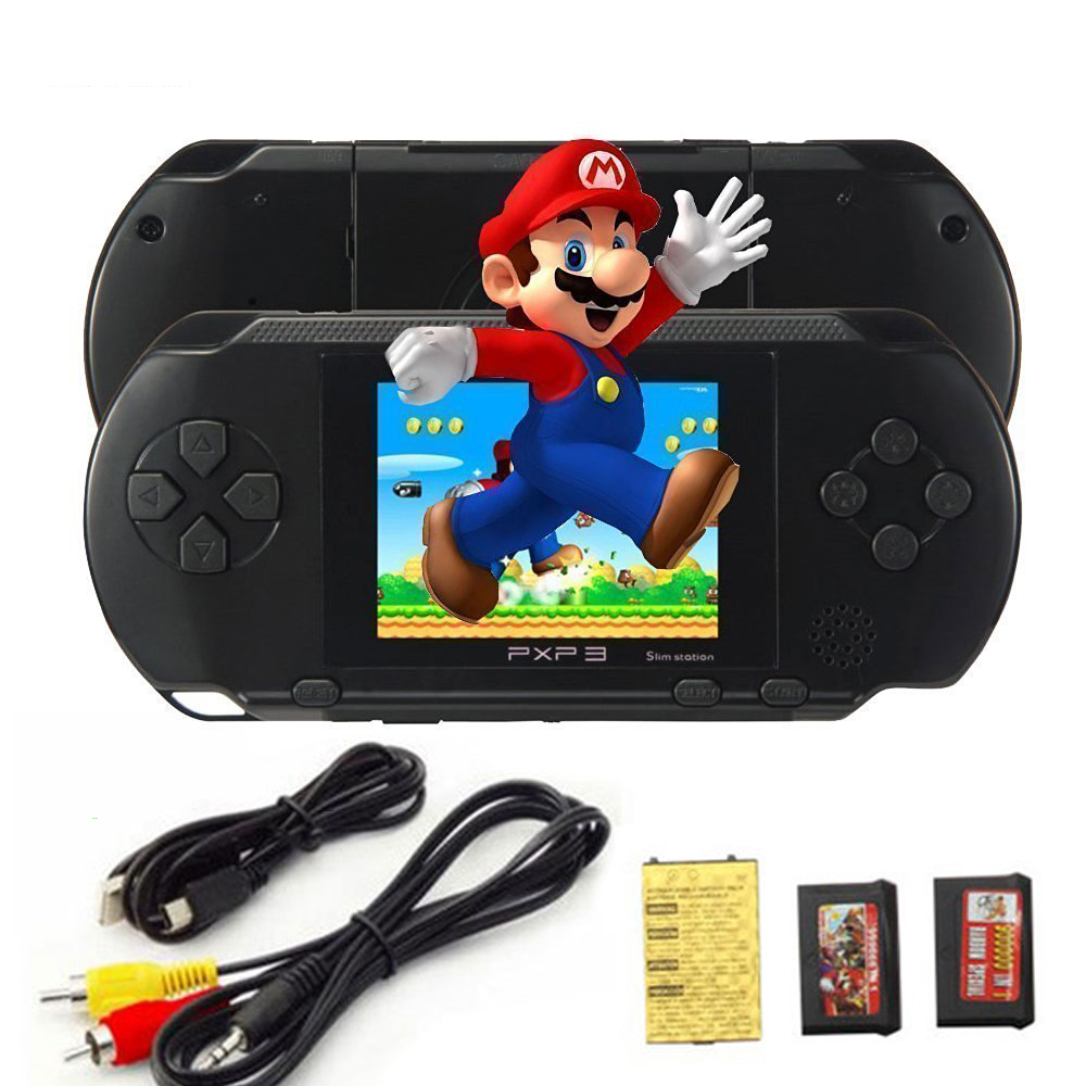 PXP3 Game Players Console 16 Bit 2 7 Inch Portable Handheld Video Game Retro Megadrive 150