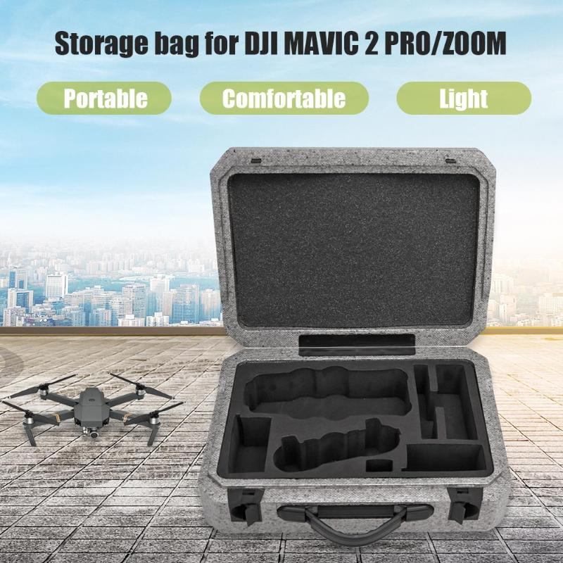 Foam Luggage Handle Convenient Large Capacity Portable Handbag For DJI MAVIC 2 Pro/Zoom Drone 365*275*113mm