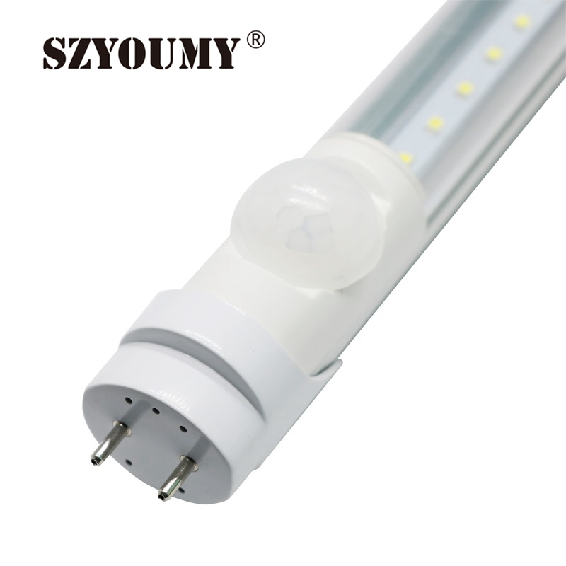 SZYOUMY T8 LED Tube Light PIR Motion Sensor 4ft Human Body