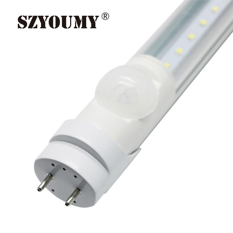 SZYOUMY T8 LED Tube Light PIR Motion Sensor 4ft Human Body ...
