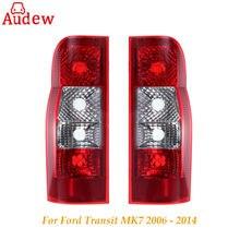 1 шт. заднего фонарь объектив заднего бампера Отражатели лампы стоп для Ford Transit MK7 2006 до 2014 панель для Ван