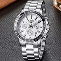 Reloj Hombre Top Luxury Brand Sports Quartz Watch Men Chronograph Military Steel Waterproof Watches Mens Clock Relogio Masculino
