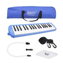 IRIN Blue 37 KeyS Piano Style Melodica Musical Instrument With Carrying Case