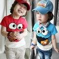 Free shipping!Hot sale 2015 Summertime child clothes,baby boys t-shirt,Cartoon,Casual,boys clothing,Korean boys tees.kids wear