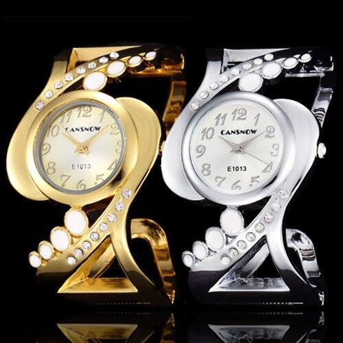 2016 New Fashion Luxury Brand Silver Cuff Bangle Wris
