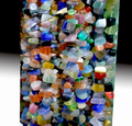 Nueva Llegada Negro turmalina Freeform Chips de Piedra Natural Joyas Joyería Hallazgos Beads Strand 34 pulgadas
