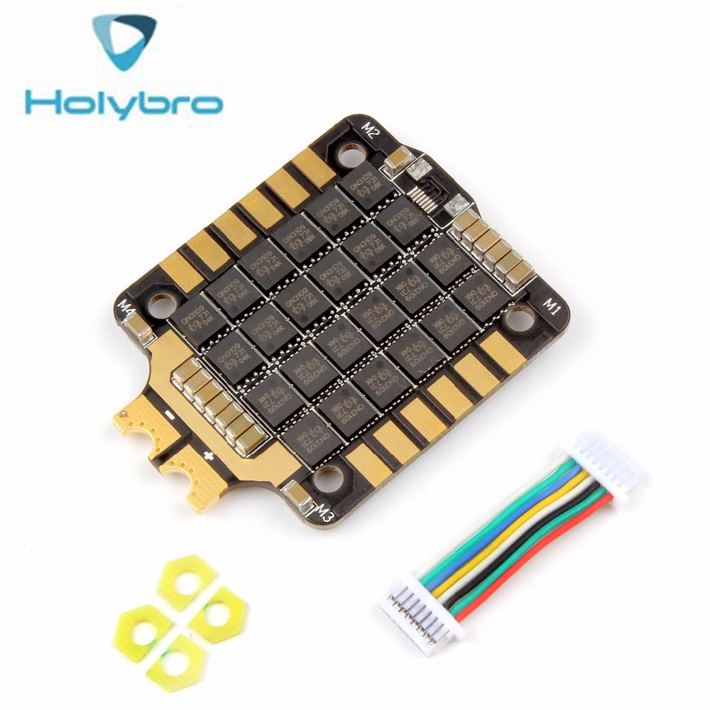 Holybro Tekko32 4in1 35A ESC DSHOT with BLHELI32 firmware natively supports ESC Telemetry function for Racing